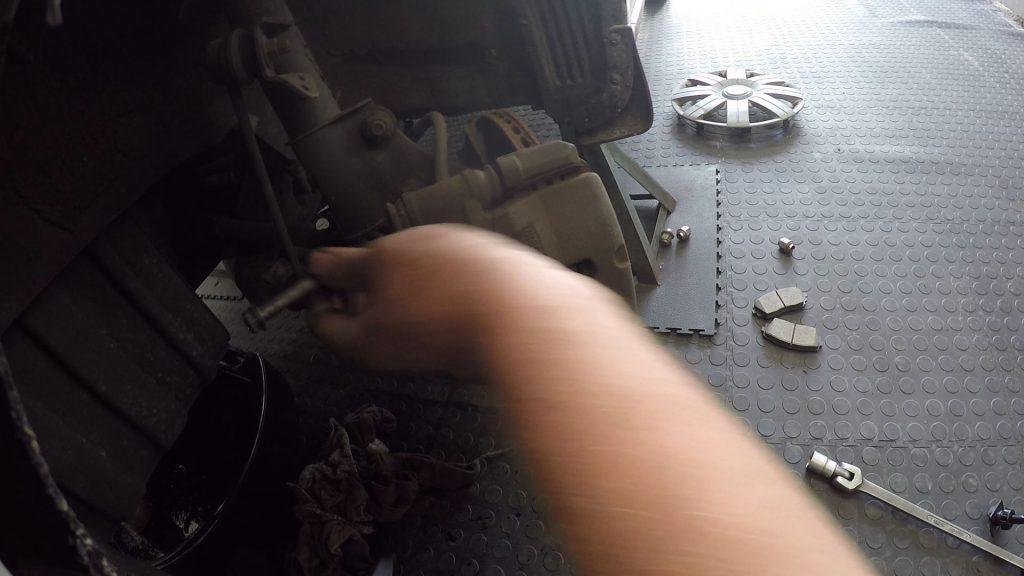 Remove bolts