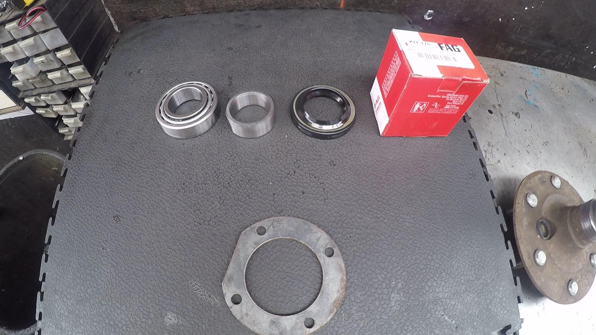 Rear Wheel Bearings Fitment