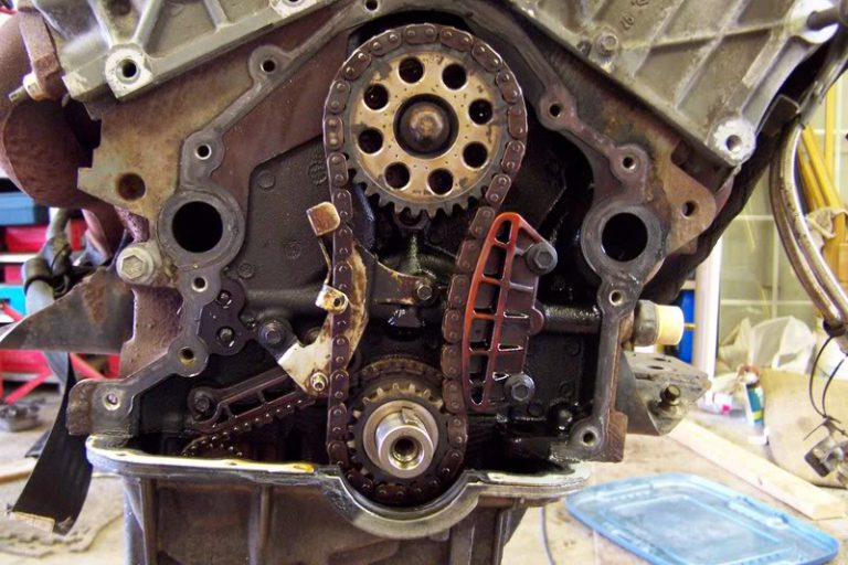 Engine Timing Chain System